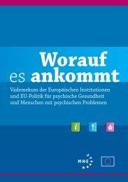 10 Der EU- Beschlussfassungsprozess - Mental Health Europe
