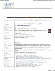 IT Portfolio Management - Digital Celerity