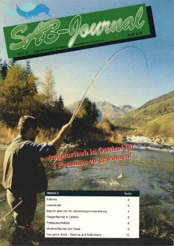 SAB -Journal 1997 / 2 - Sportanglerbund Vöcklabruck
