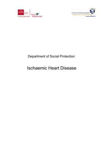 Ischaemic Heart Disease - Welfare.ie
