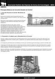 Associação Brasileira das Empresas de Serviço de Concretagem ...