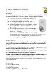Energiemessadapter 1808940 - Bowil