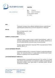 PÄÄTÖS - Aluehallintovirasto