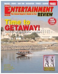 IER 1-05 - Inland Entertainment Review Magazine