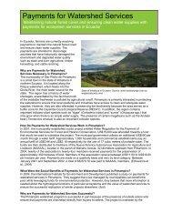 Pimampiro, Ecuador - Ecosystem Marketplace
