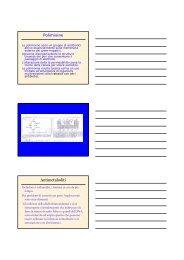 Polimixine Antimetaboliti - Sezione di Microbiologia