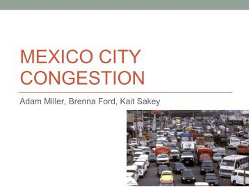 MEXICO CITY CONGESTION