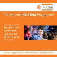 Engineering Your Future - National HE STEM Programme