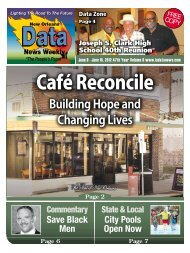 Café Reconcile Building Hope and Changing Lives