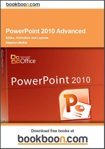 PowerPoint 2010 Advanced Language English Format - Tutorsindia