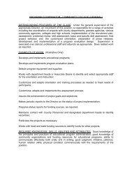 program coordinator - community college (general) - Westchester ...