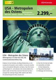 USA - Metropolen