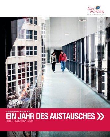 EIN JAHR DES AUSTAUSCHES - Atos Worldline