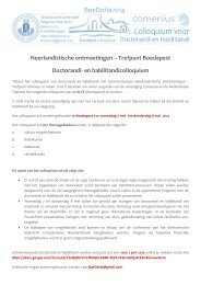 call for papers - Internationale Vereniging voor Neerlandistiek