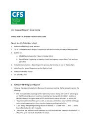 CFS Chair's Summary of Joint Bureau/AG Meeting_15 May ... - CSM