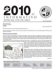 Especial fin de año - Colegio San Benito