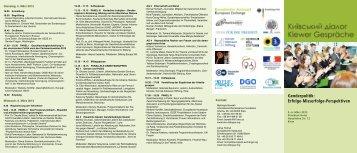 Genderpolitik: Erfolge-Misserfolge-Perspektiven - Kiev Dialogue