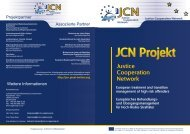 JCN TED - CEP, the European Organisation for Probation