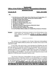 Revision of pension - Controller of Defence Accounts (Pensions)