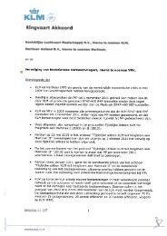 CAO KLM Vliegers 2011-2014 - FlexNieuws
