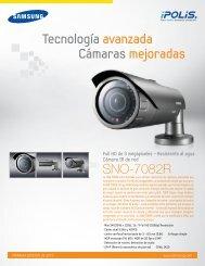 SNO-7082R Tecnología avanzada Cámaras ... - CCTV Center