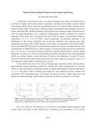 Hadronic Modes and Quark Properties in the Quark-Gluon Plasma