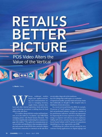 Retail's Improving Picture