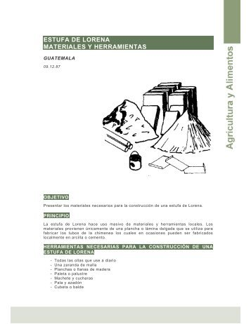 ESTUFA DE LORENA MATERIALES Y ... - Ideassonline.org
