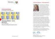 Einladung und Programm zur Veranstaltung am 14.07.2011