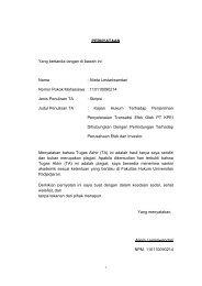 Alieta Lestariwandari Nomor Pokok Mahasiswa : 110110090214 ...