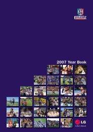FD155a Year Book 2007 - Fremantle Football Club