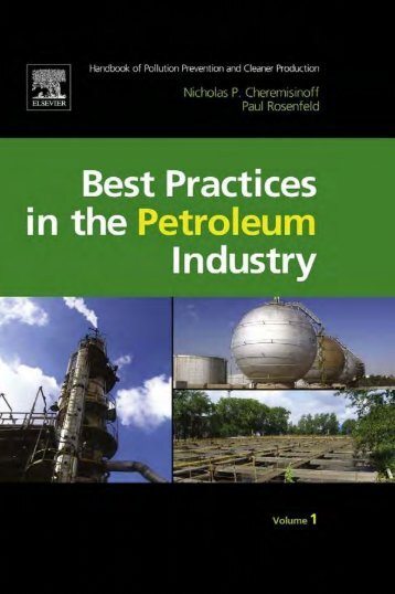 best practices for the petroleum industry - Caribbean Environmental ...