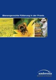 Was ist Bienenfutter? - Nordzucker AG