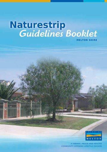Nature Strip Guideline Booklet - Melton City Council
