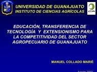Educación Transferencía de Tecnología y Extensionismo