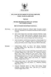 KMK No 854 Tahun 2009 tentang Pedoman Pengendalian Penyakit ...