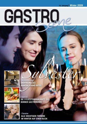 Die SylveSterhighlightS Der bonner gaStronomie ... - Gastro Scene
