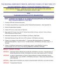 The Regional Emergency Medical Services Council of New York City - Page 3
