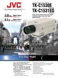 JVC TK-C1530/31 CCTV cameras product datasheet