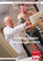 Grundlagenpapier Männergesundheit - SPD-Fraktion im ...