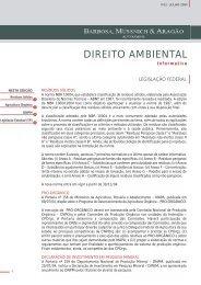 Informativo Ambiental - Julho 2004