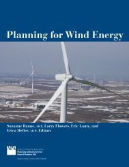 Planning for Wind Energy - American Planning Association