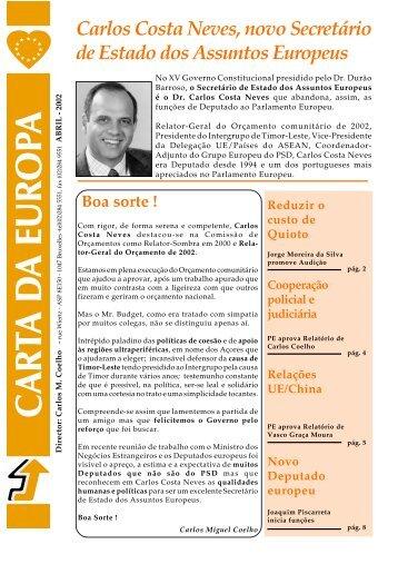 Abril - Carlos Coelho
