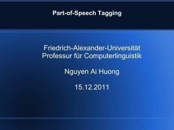 Part-of-Speech Tagging