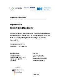 Ergebnisbericht Projekt Weiterbildungskataster - Deutsches Institut ...