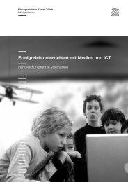 Erfolgreich unterrichten mit Medien und ICT - edu-ict.ch - Kanton ...