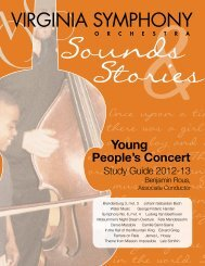 a PDF of the Young People's Concert Guide - Virginia Symphony ...
