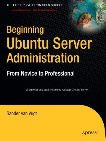 Apress Beginning Ubuntu Server Administration ... - Graphic Design