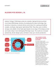 ALLEGRO PCB DESIGN L, XL - FlowCAD