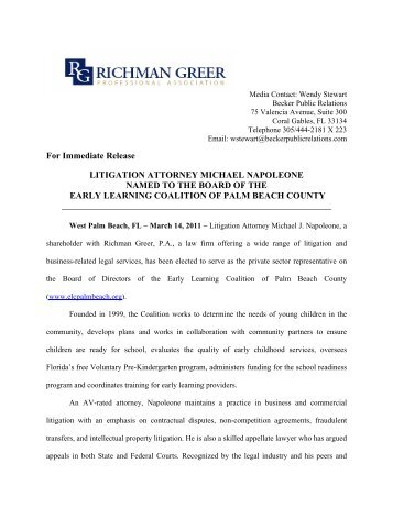 Download Article - Richman Greer, P.A.